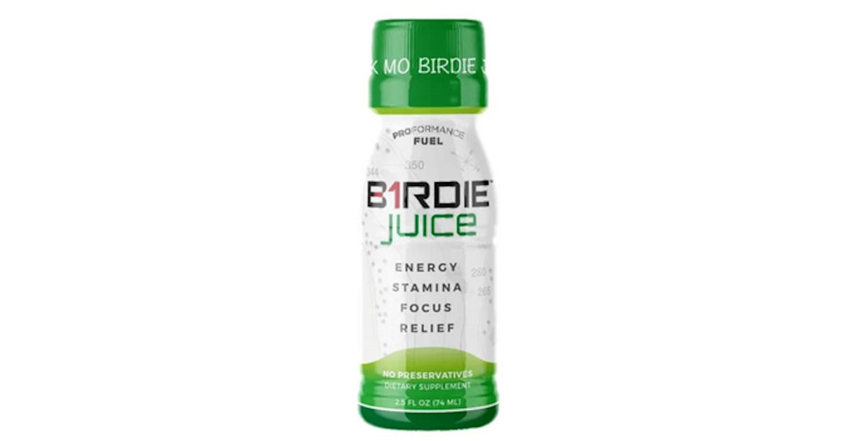 FREE Sample of Birdie Juice Pe...