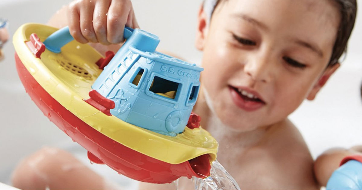 Green Toys My First Tug Boat Blue ONLY $6 (Reg $13)