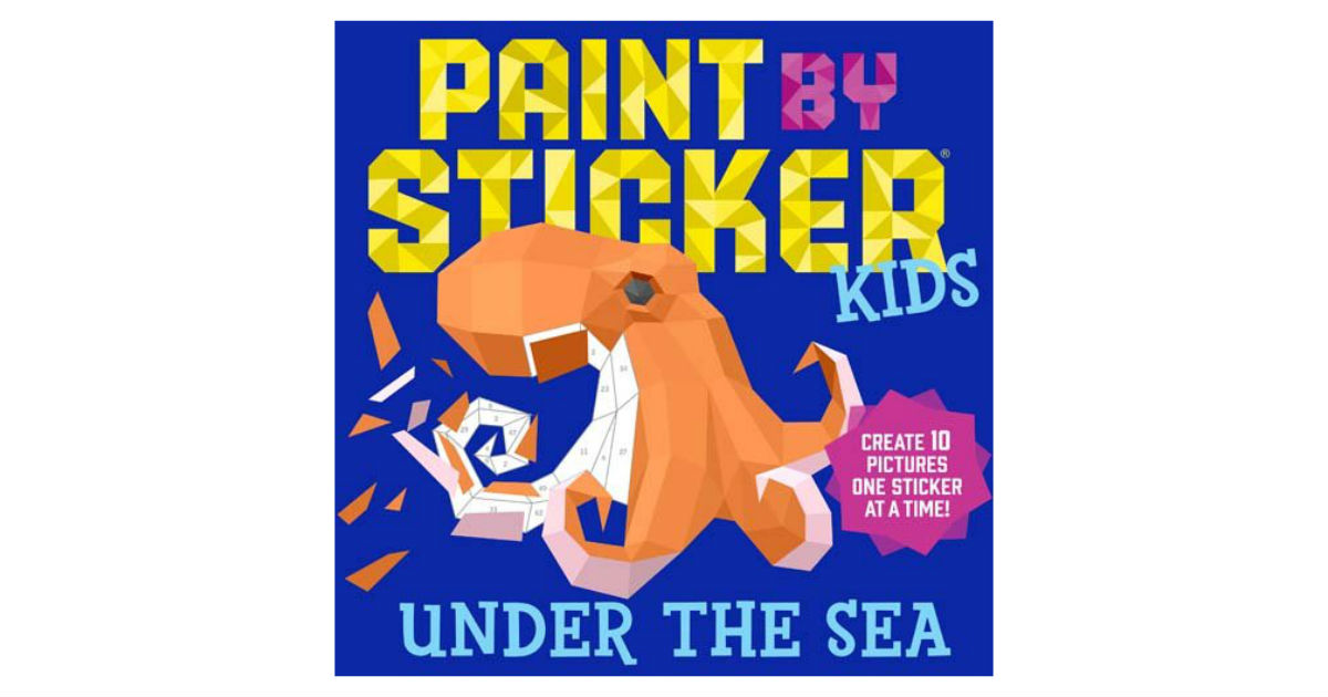 Paint by Sticker Book ONLY $6.36 (Reg. $10)