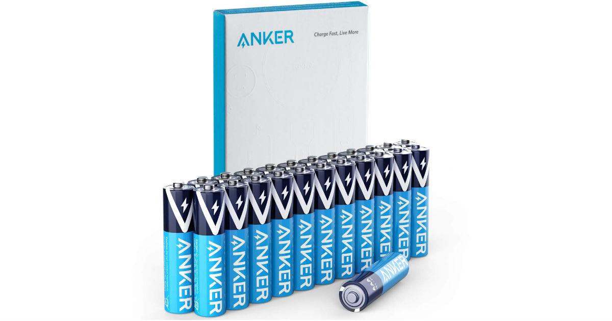 Anker Alkaline AAA Batteries AAA ONLY $6.64 Shipped