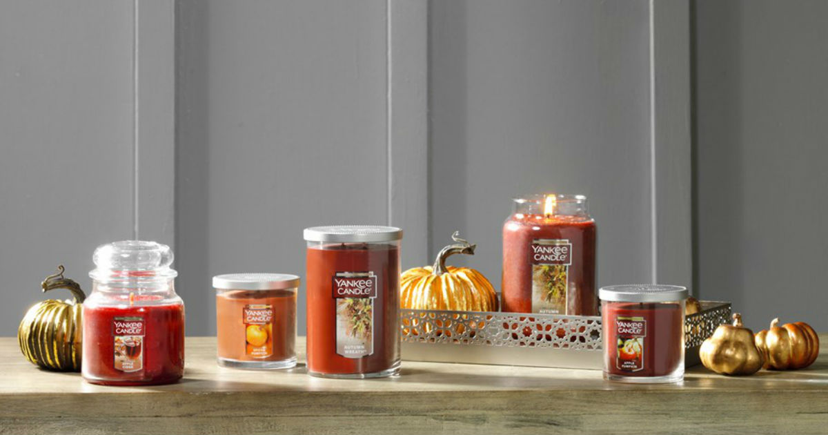 Up to 3 FREE Candles at Yankee Candle