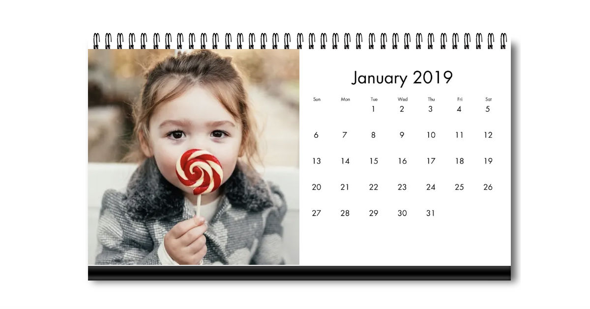 Desktop Photo Calendar ONLY $1.99 (Reg $10) at Walgreens