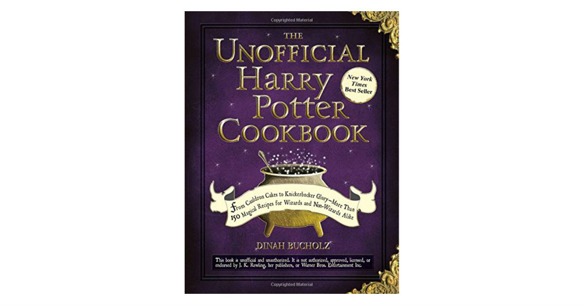 The Unofficial Harry Potter Cookbook ONLY $9.45 (Reg. $20)