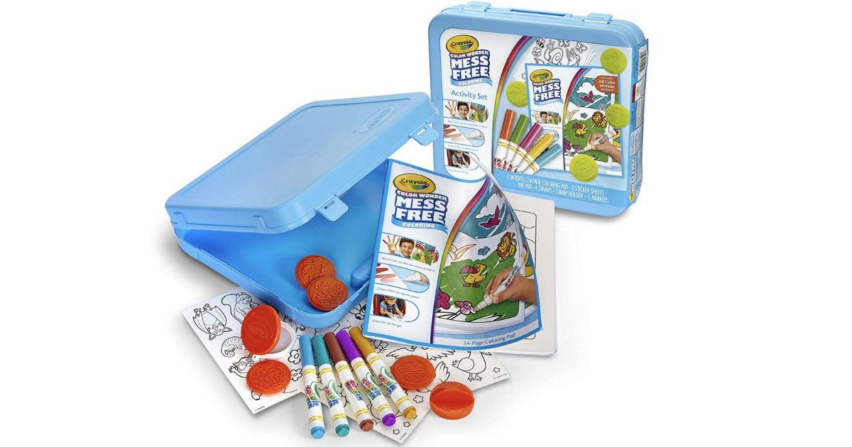 Crayola Color Wonder Mess Free Activity Set ONLY $8.49 (Reg $17)