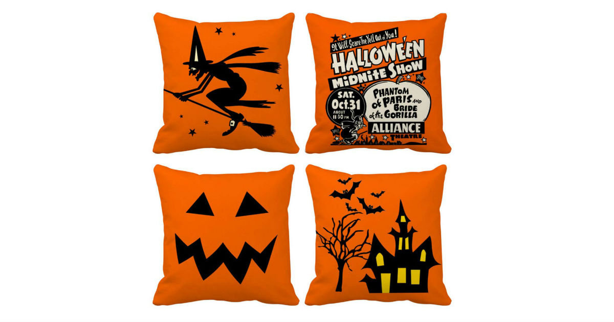 Halloween Pillow Covers ONLY $1.75 Each on Amazon