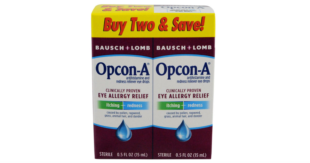 Opcon-A Eye Drops 2-Count ONLY $1.37 Shipped