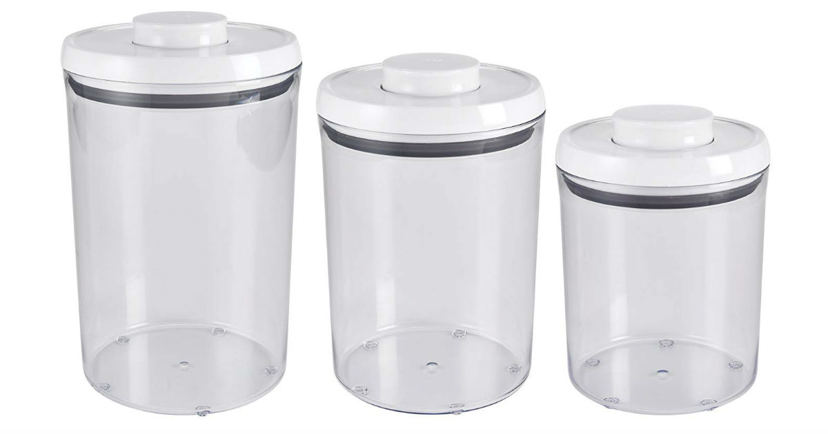 OXO Good Grips Airtight Canister Set ONLY $23.19 (Reg. $40)