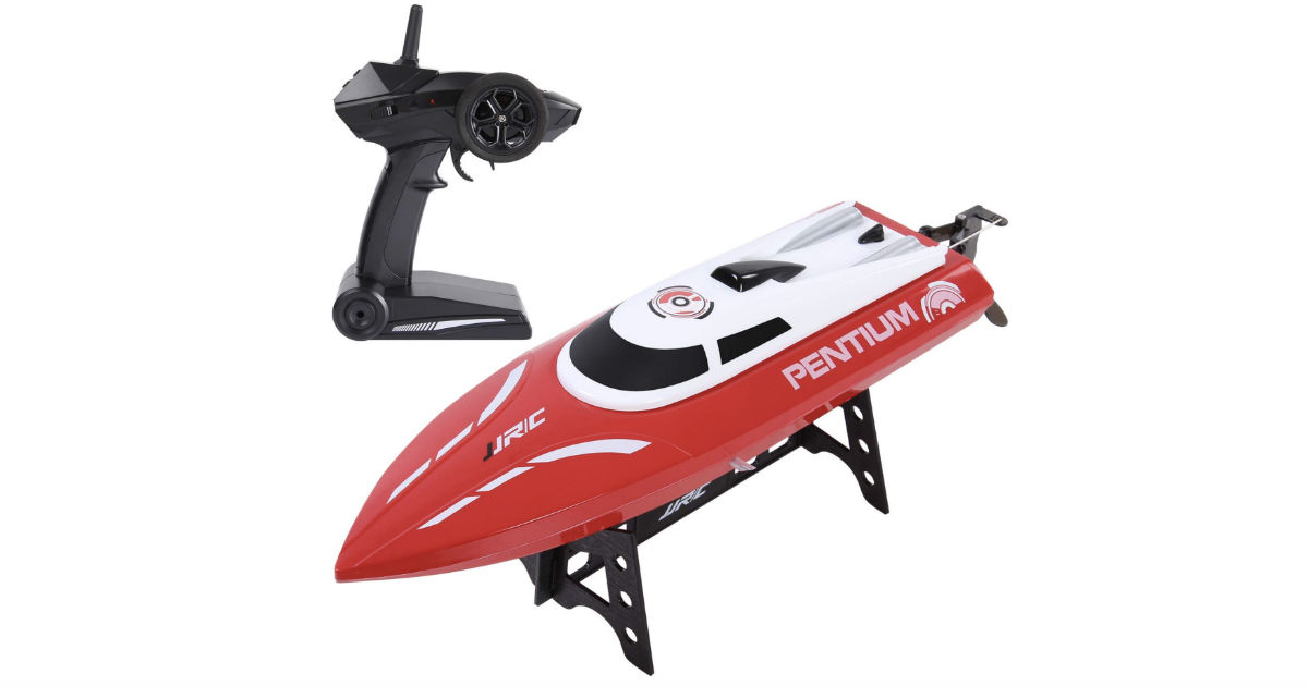 Sgile Remote Control Waterproof Race Boat ONLY $30.93 Shipped