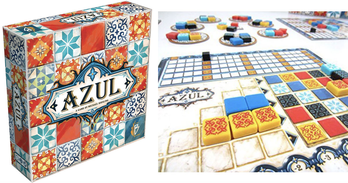 Azul Board Game ONLY $18.99 at Walmart (Reg $40)