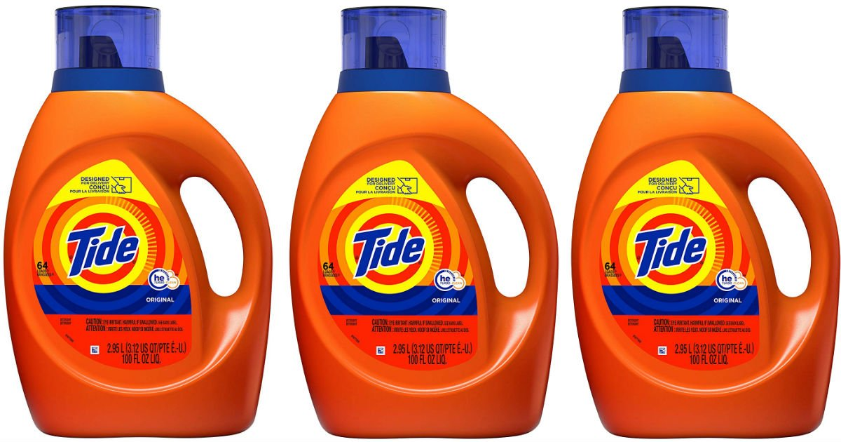 Tide Laundry Detergent 100-oz ONLY $8.67 Shipped (Reg $15)