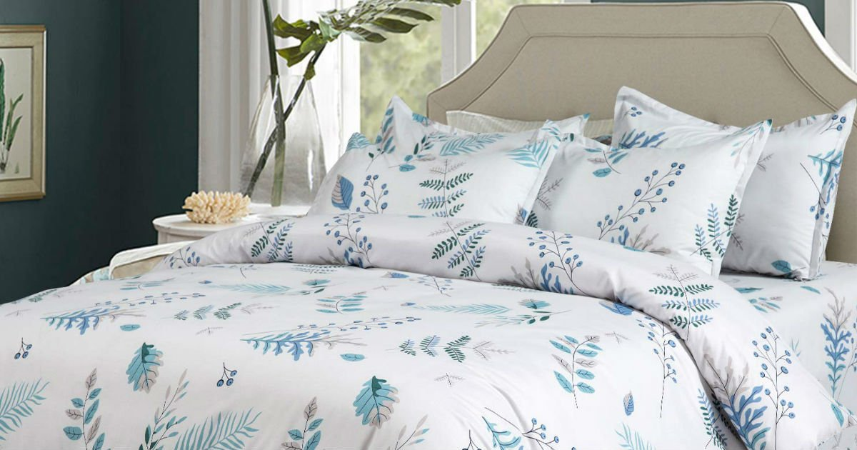 King Size Duvet Cover Set ONLY $22.89 (Reg. $70)