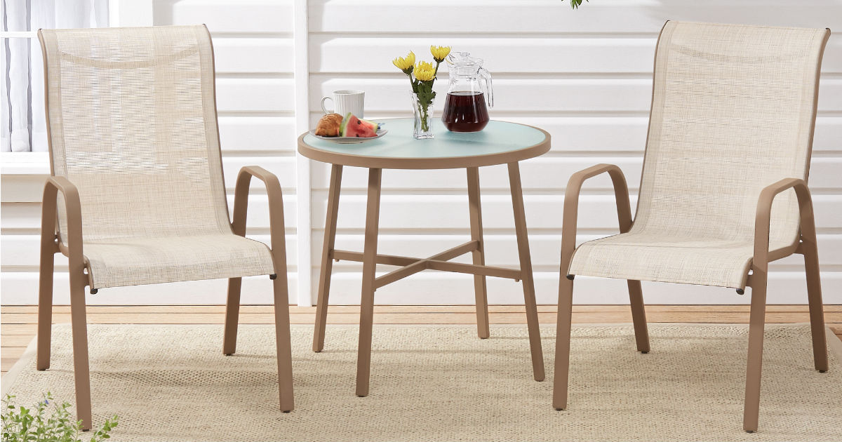 Mainstays Mirabell Patio Bistro Set 3-Pc ONLY $56.31 (Reg $149)