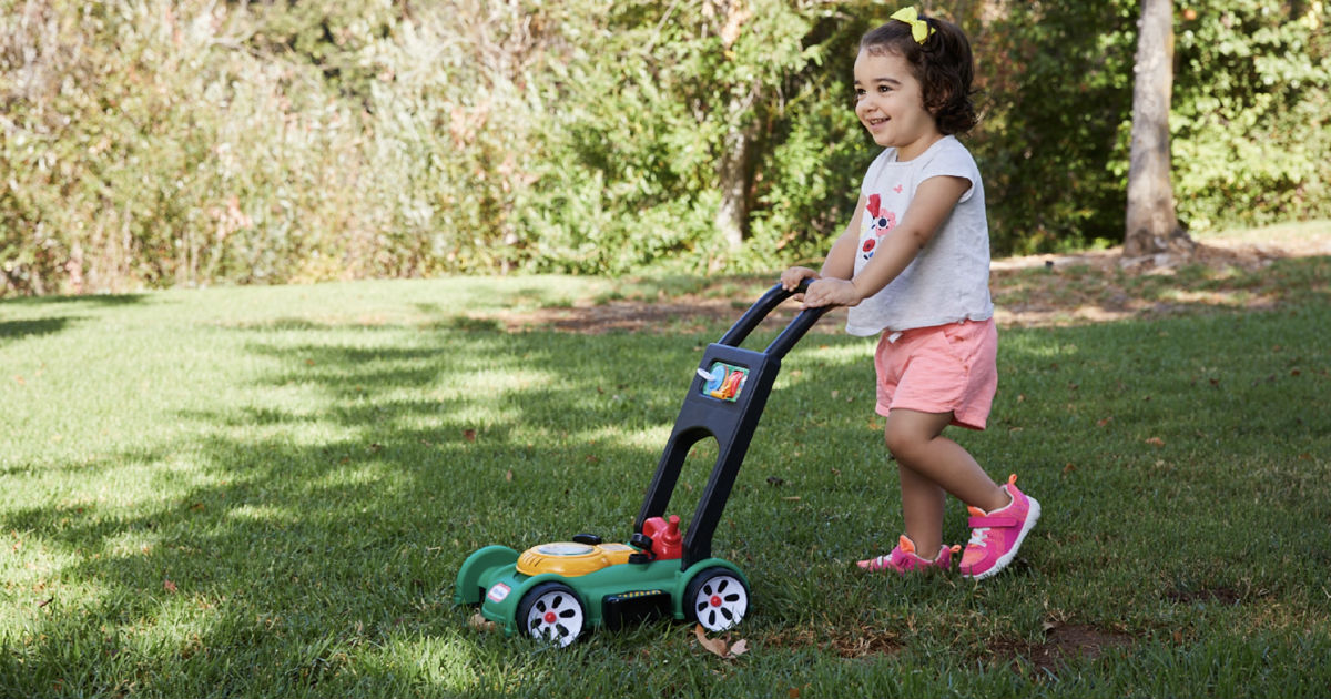 Little Tikes Gas N Go Mower ONLY $17.36 (Reg $25)