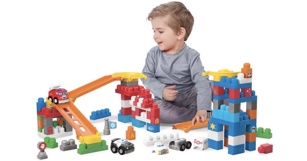 Mega Bloks Fast Tracks Deluxe Rescue Center ONLY $19.99