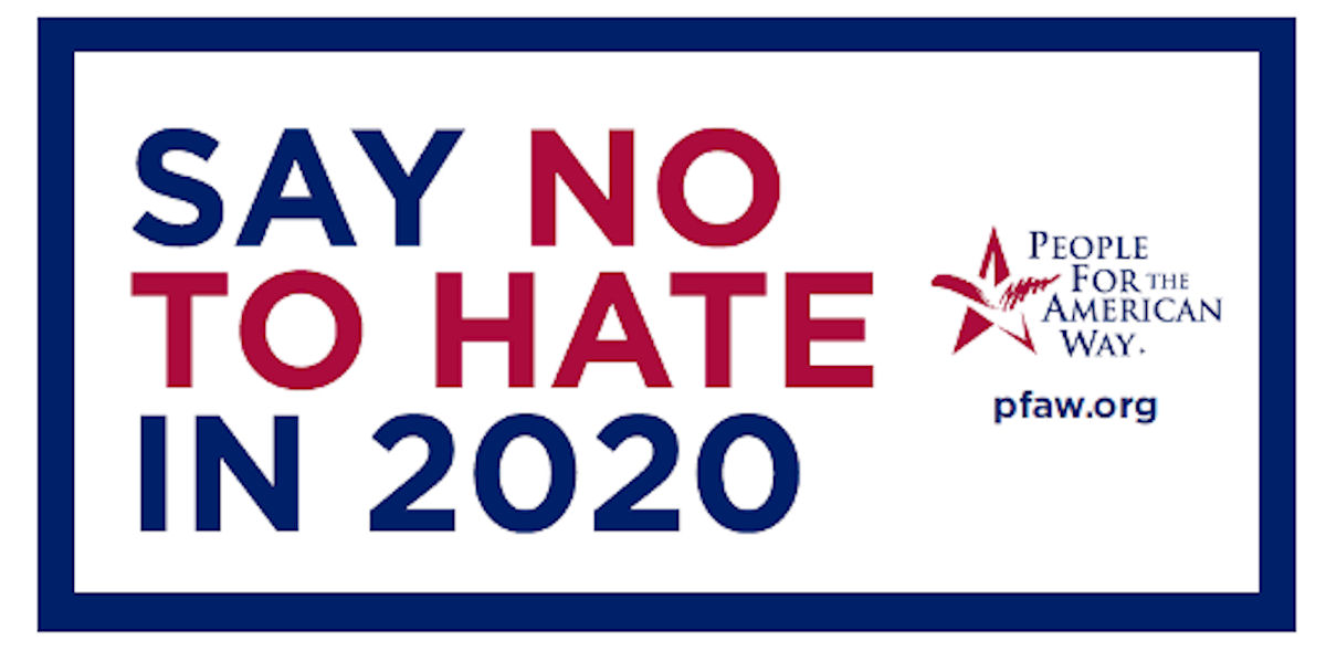 FREE Say No to Hate in 2020 St...
