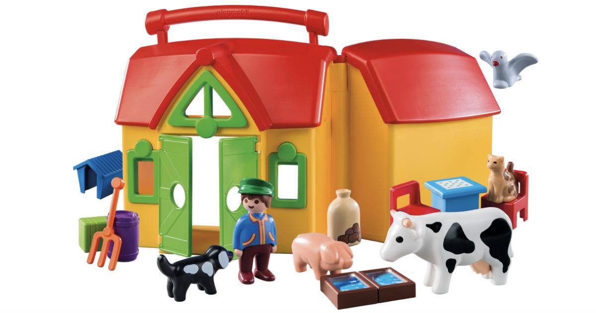 PLAYMOBIL My Take Along Farm Playset Only $16.87 (Reg $40)