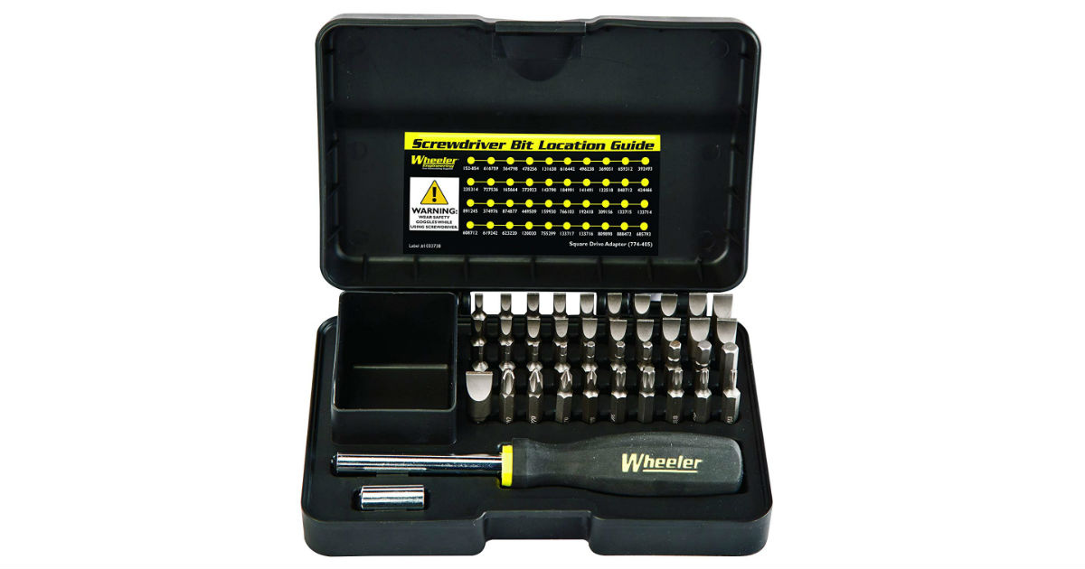 Wheeler Engineering Screwdriver Set ONLY $19.24 (Reg. $40)