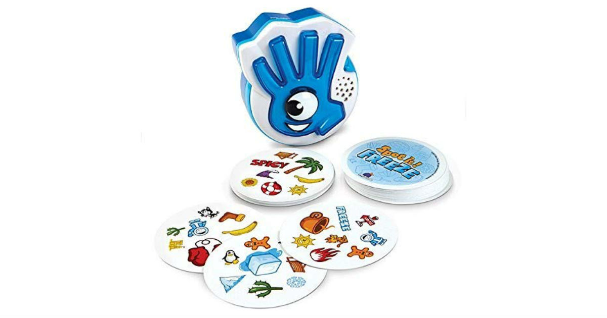 Spot It! Freeze Game ONLY $12.99 (Reg. $26)