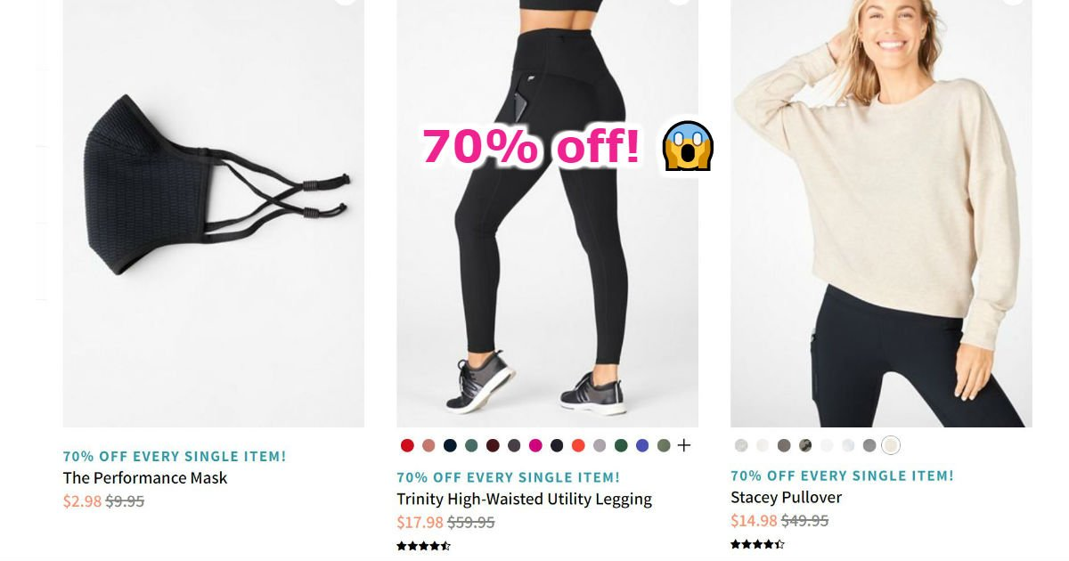 Fabletics Leggings 2 for $24 ($99 Value)