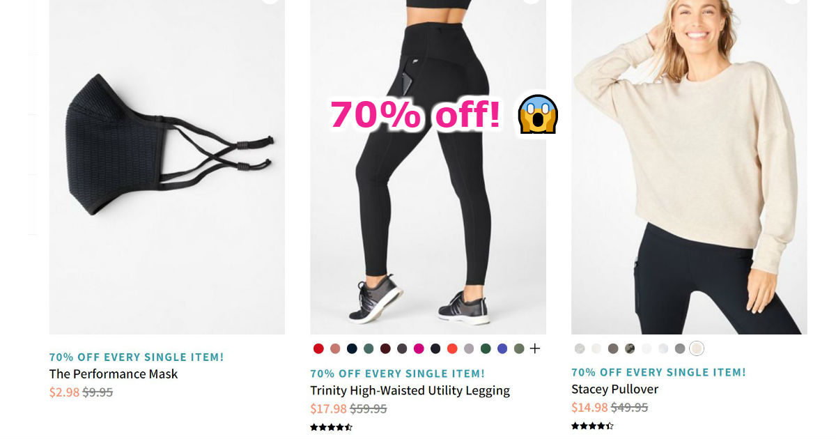 Fabletics has 70% Off Everythi...