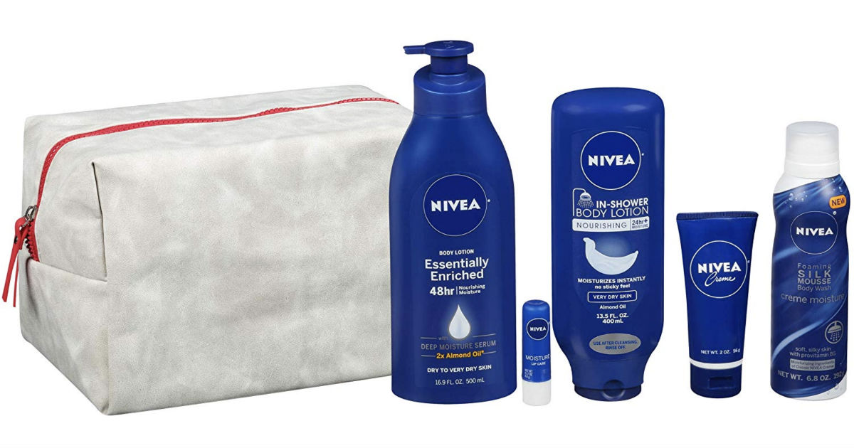 Nivea Pamper Time 5-Piece Gift Set ONLY $12.50 (Reg $25)