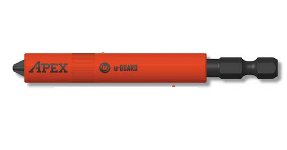 FREE APEX u-Guard Tool Bit wit...