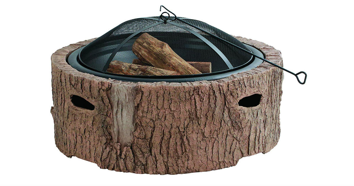 Martha Stewart Wood Burning Fire Pit ONLY $195 (Reg. $386)