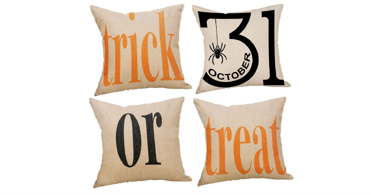 Halloween Pillow Covers ONLY $2.99 Each on Amazon