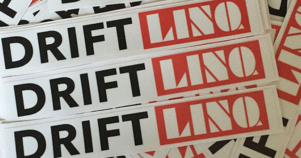 FREE DriftLinq Stickers...