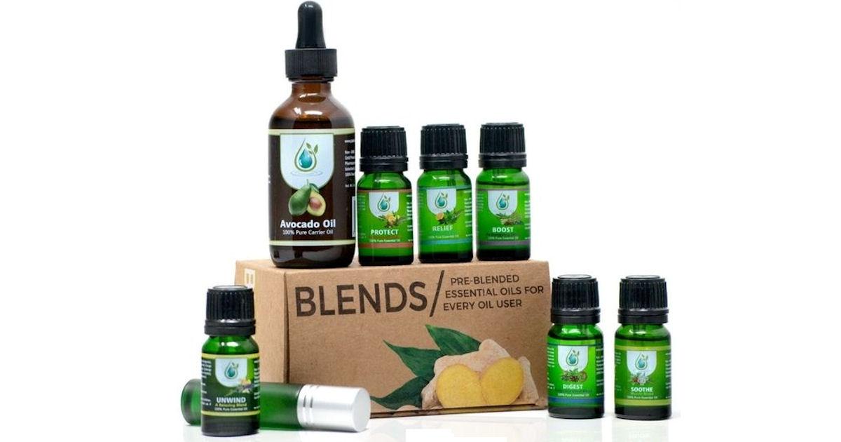 8 FREE Jade Bloom Essential Oi...