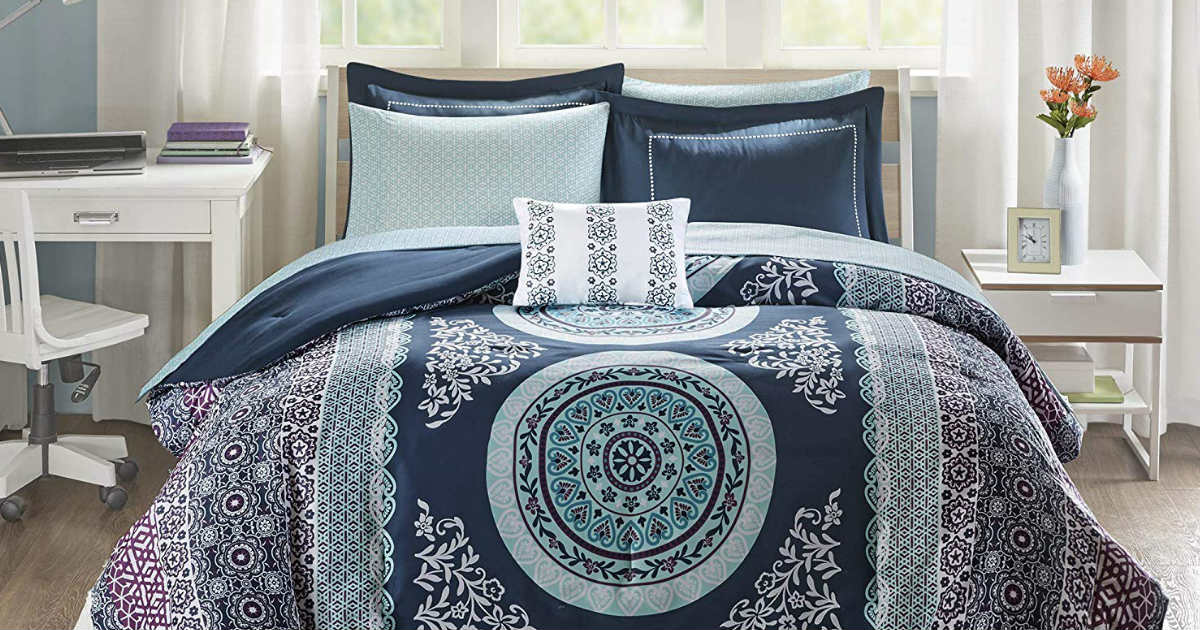 Comforter & Sheet 7-Piece Set ONLY $39.66 (Reg. $84)