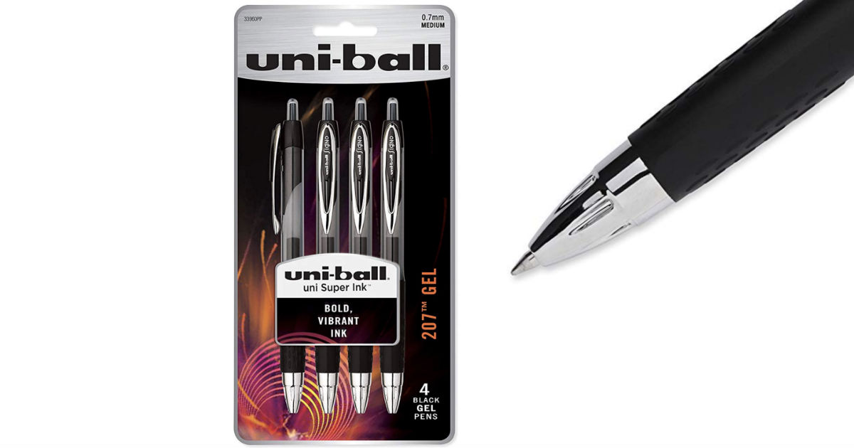 Uni-Ball Signo Gel Pen 4-Pack ONLY $2.29 Shipped on Amazon