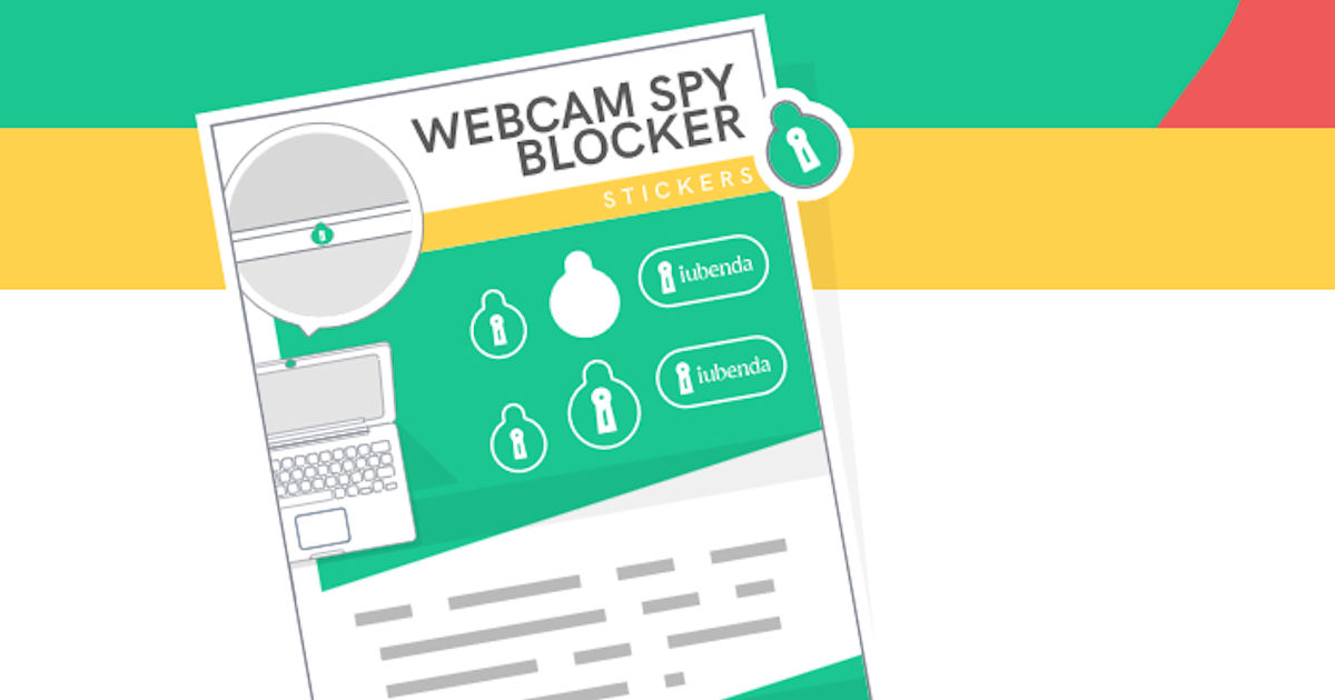 FREE Webcam Spy Blocker Sticker