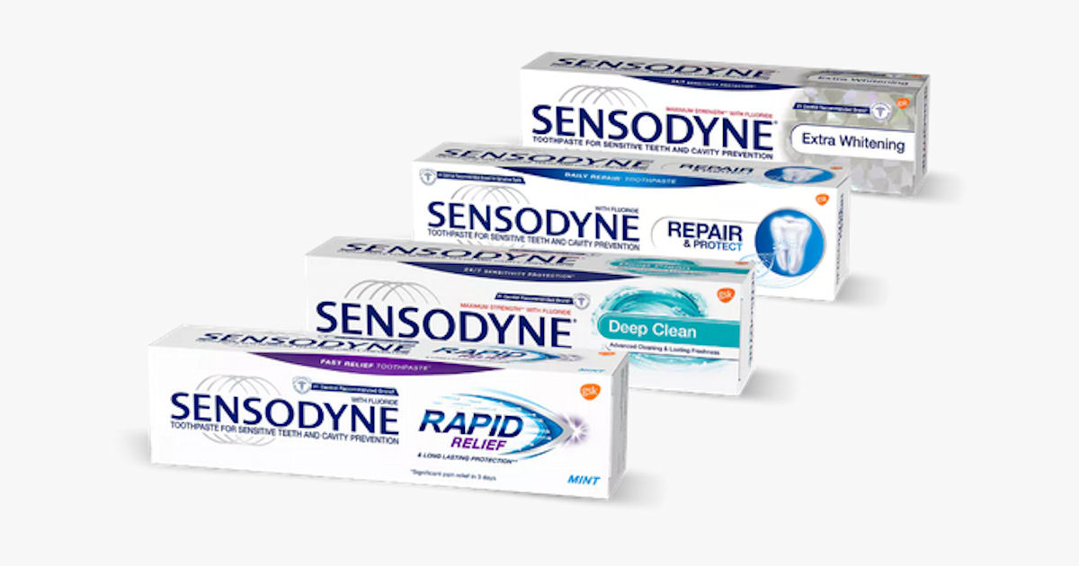 FREE Sample of Sensodyne Tooth...