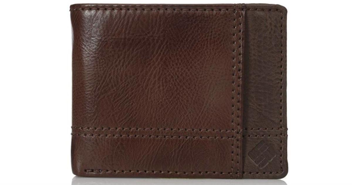 Men's Columbia Security Blocking Traveler Wallet ONLY $12.80