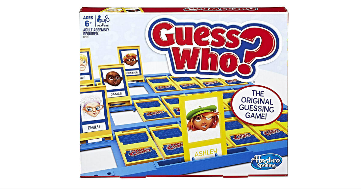 Hasbro Guess Who ONLY $6.99 (Reg. $13)