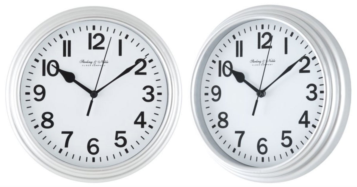 Mainstays Basic Clock ONLY $3.