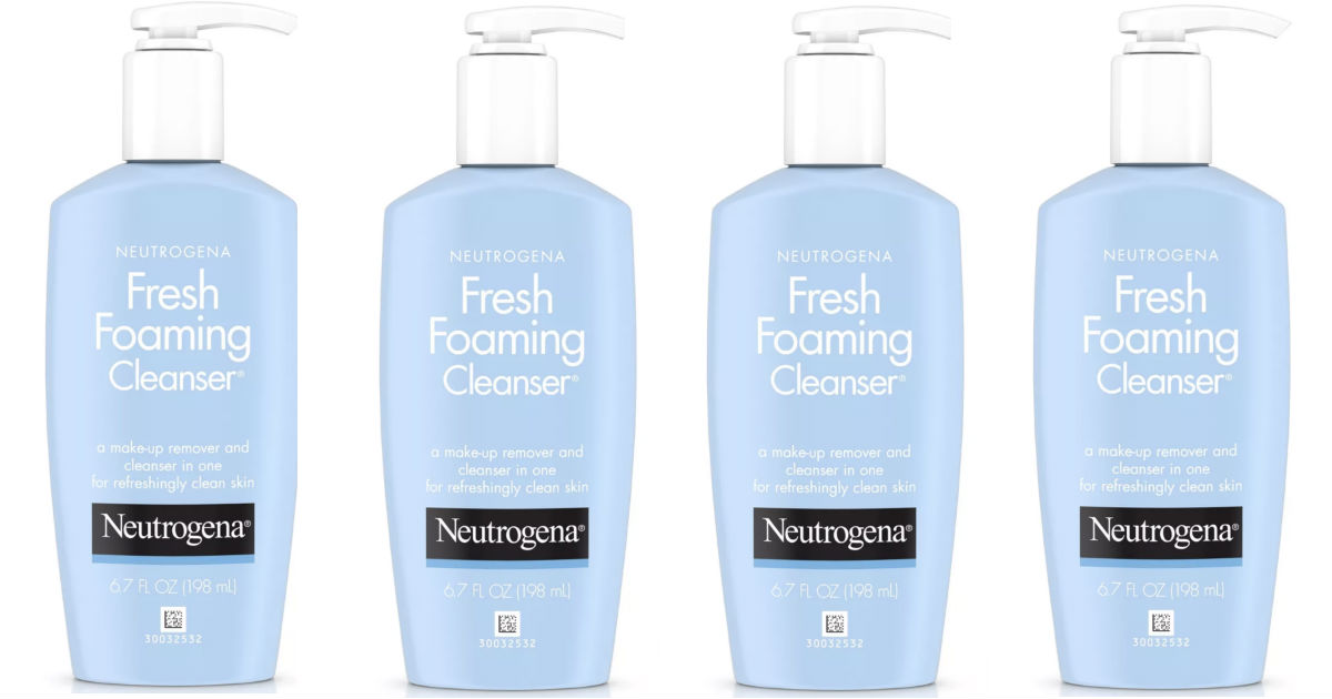 Neutrogena Fresh Foaming Cleansers Only $2.39 at Target