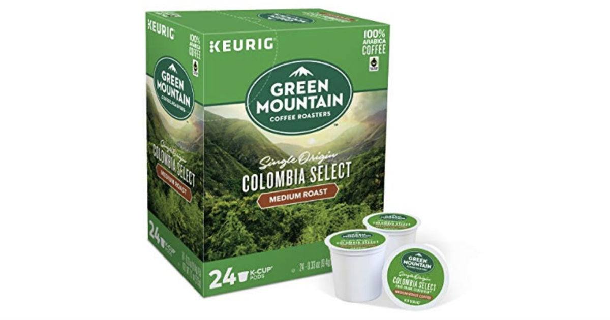 Green Mountain Coffee 72-ct K-Cups ONLY $20.53 Shipped