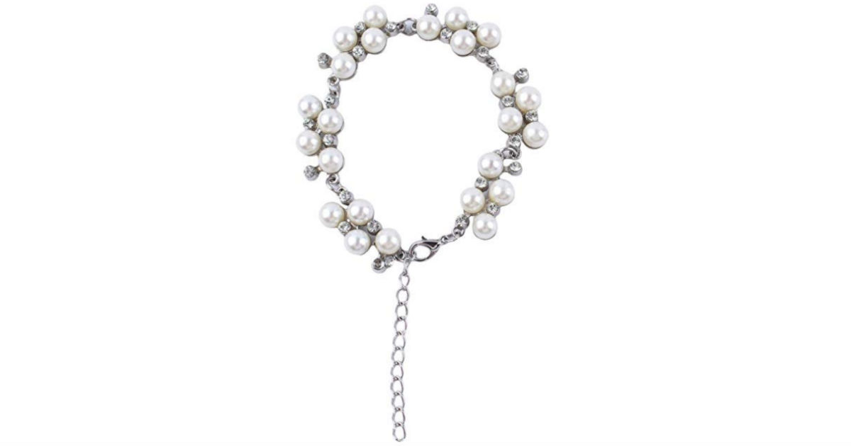 Simulated Pearl Beads Bracelet ONLY $2 Shipped