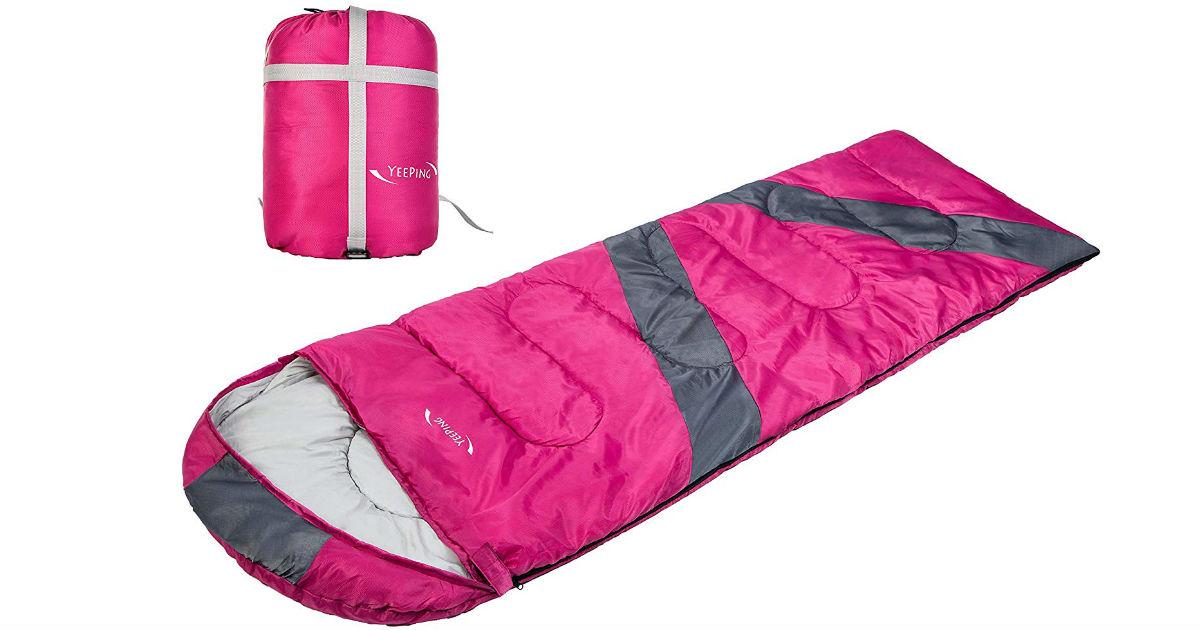 Yeeping Envelope Sleeping Bag ONLY $22.90 (Reg. $45)