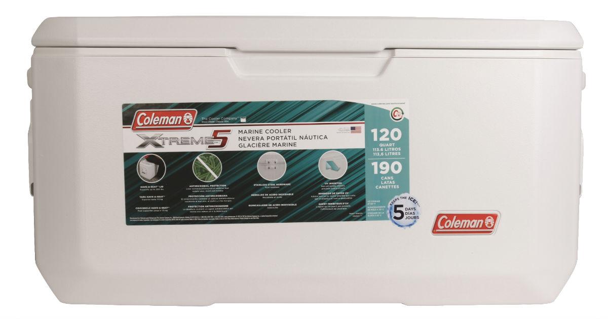 Coleman 120-Quart Xtreme Series Cooler ONLY $45 (Reg $65)
