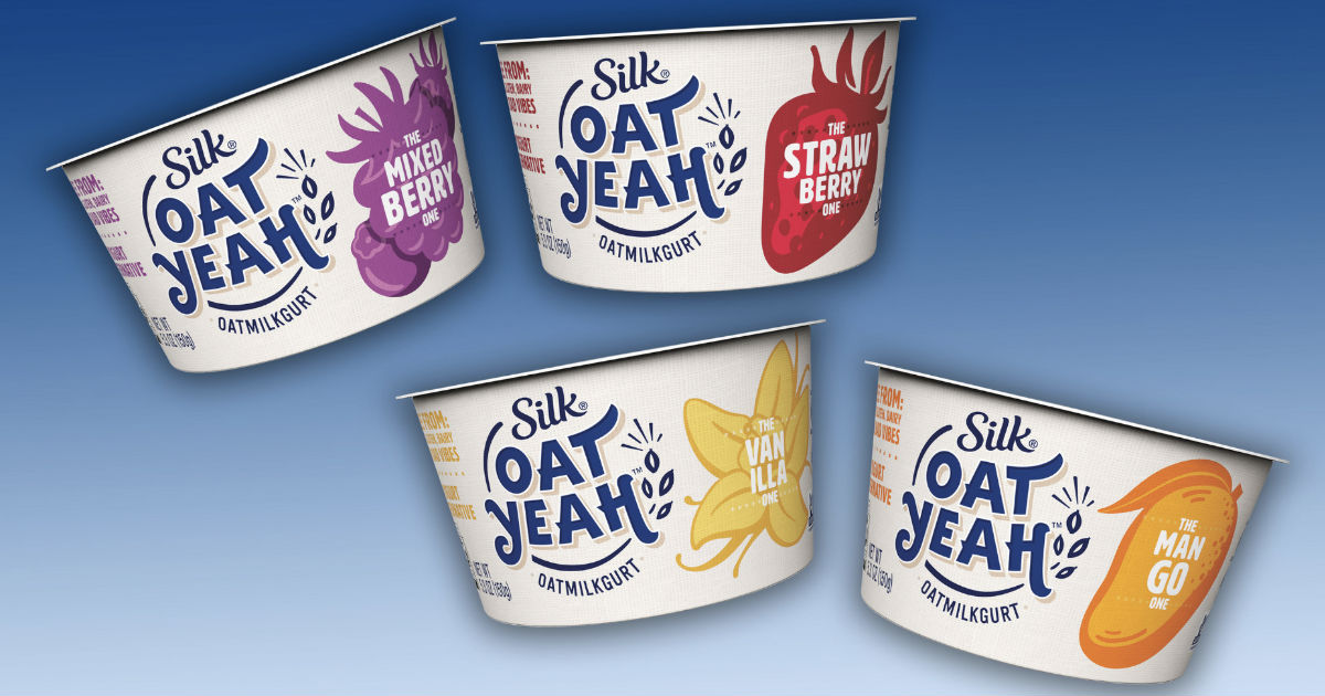 Silk Oat Yeah Dairy-Free Yogurt Alternative ONLY $0.48 at Target
