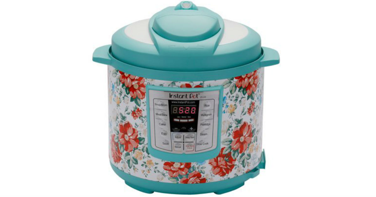 Pioneer Woman 6-Quart Instant Pot Only $59.99 Shipped (Reg $99)