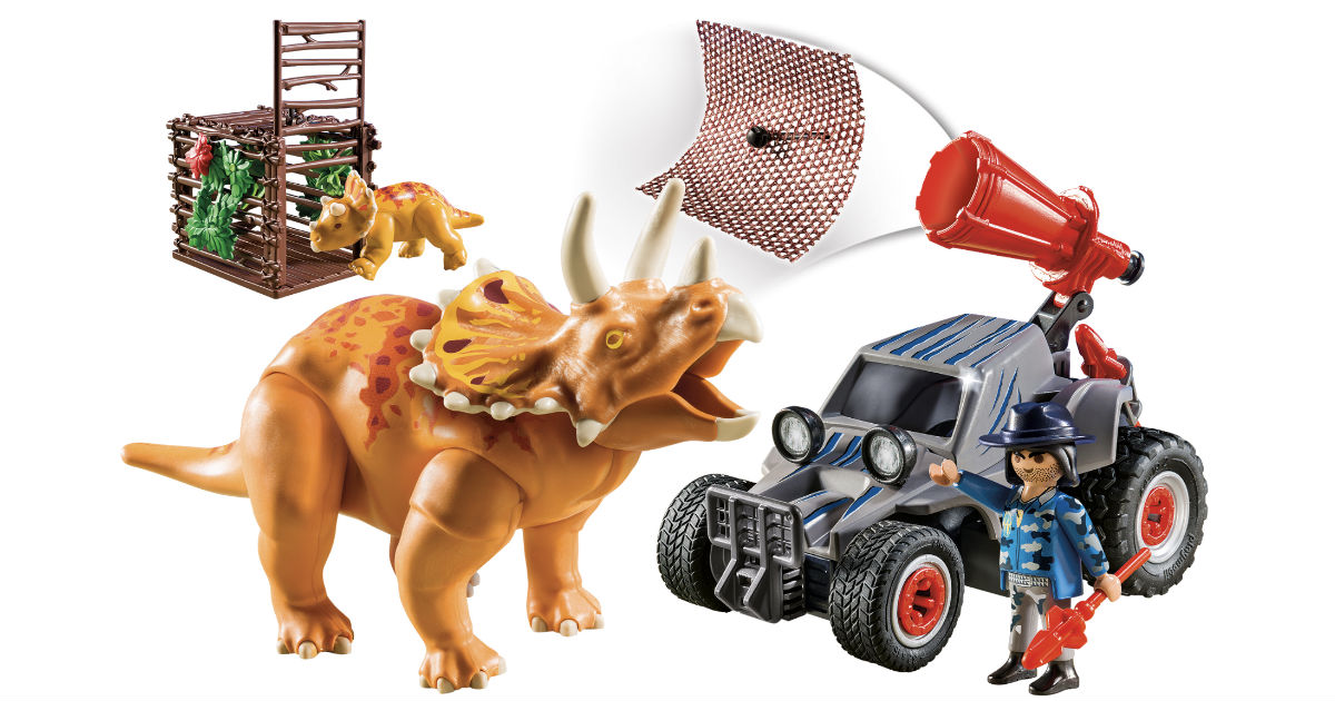 Playmobil Enemy Quad with Triceratops ONLY $12.99 (Reg $18)
