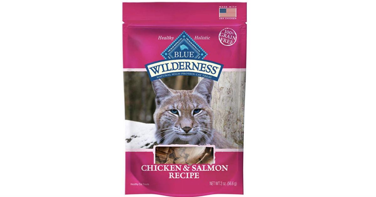 Blue Wilderness Grain-Free Dog & Cat Treats ONLY $2.19 Shipped