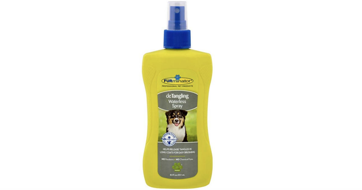 FURminator deTangling Waterless Spray ONLY $2.14 (Reg $10)