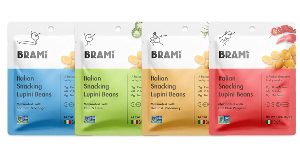 FREE Sample of BRAMI Snacks fo...