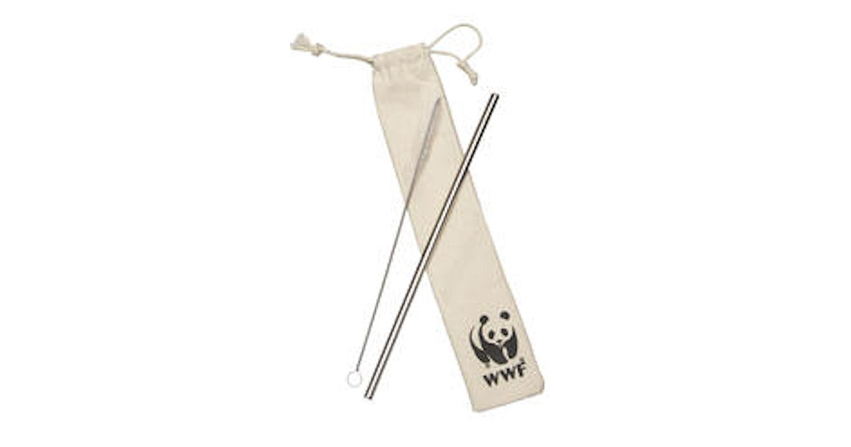 FREE WWF Reusable Straw Kit...