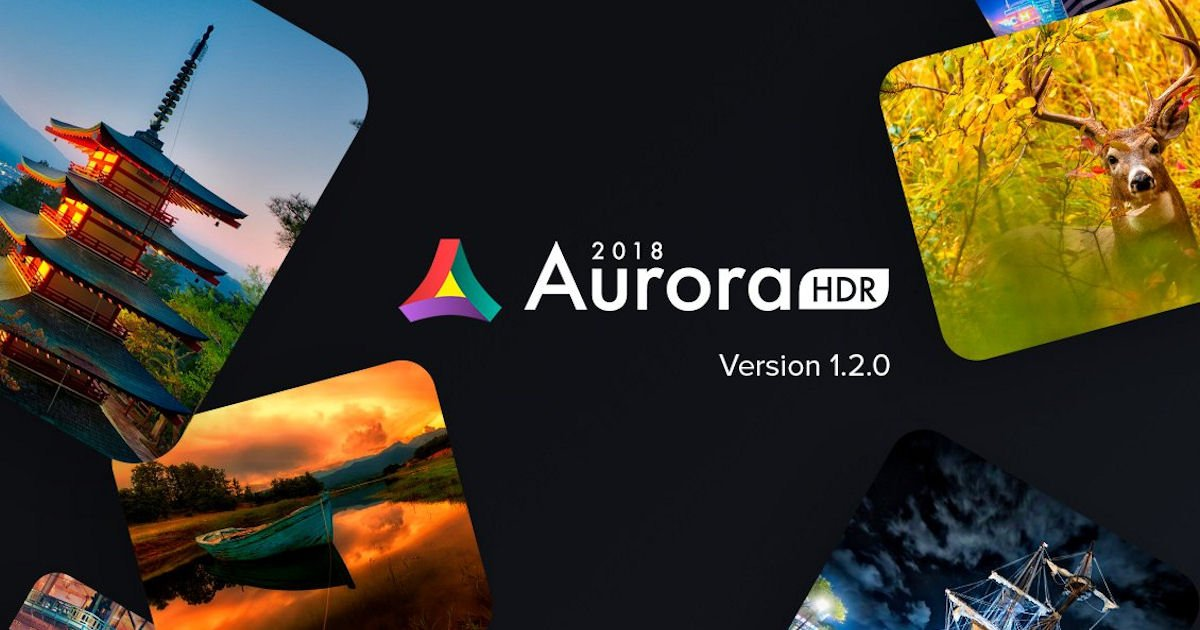 FREE Aurora HDR 2018 Software.